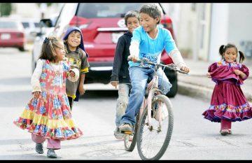 Bicicletas para los niños rarámuris