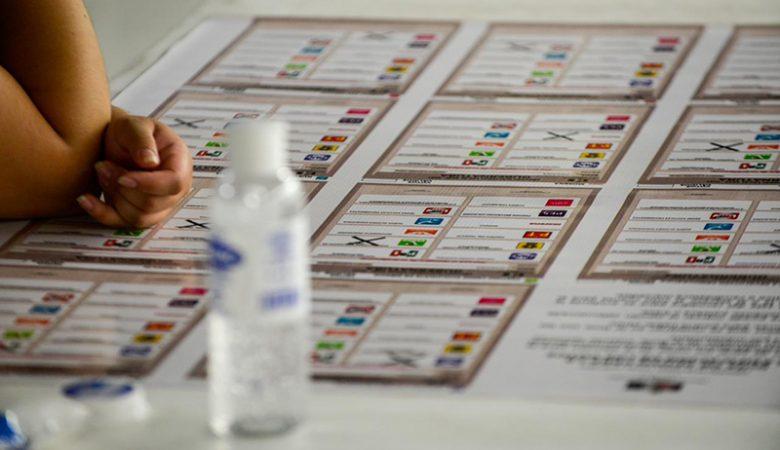 Recuento del cómputo en Juárez, elecciones