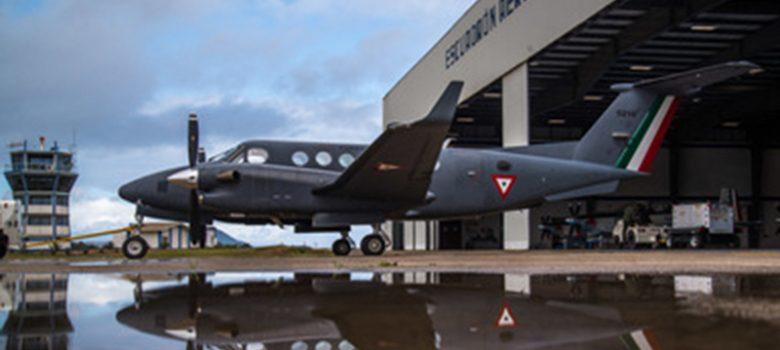 Avión que sembrará nubes en Chihuahua, Sinaloa y Sonora