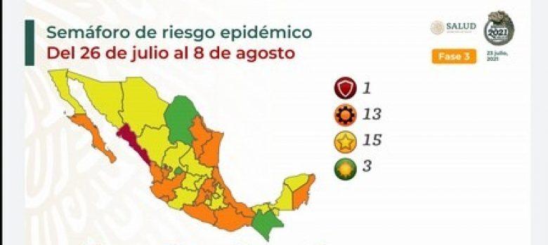 Semáforo epidemiologico