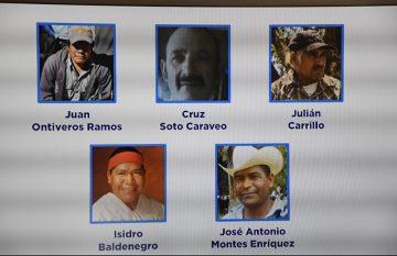 Activistas indígenas asesinados