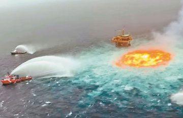 fuga; combustible fósil