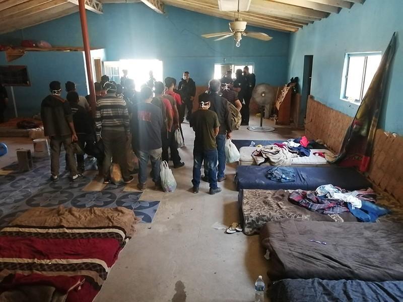 Migrantes en Anapra