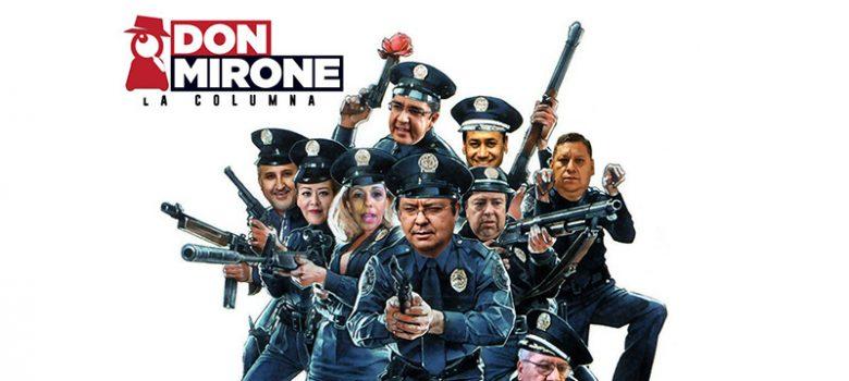 Mirone, Academia de Policía