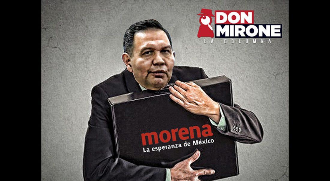 Cruz, con todo por la dirigencia de Morena