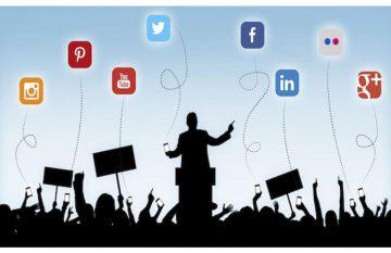 campañas; medios; redes