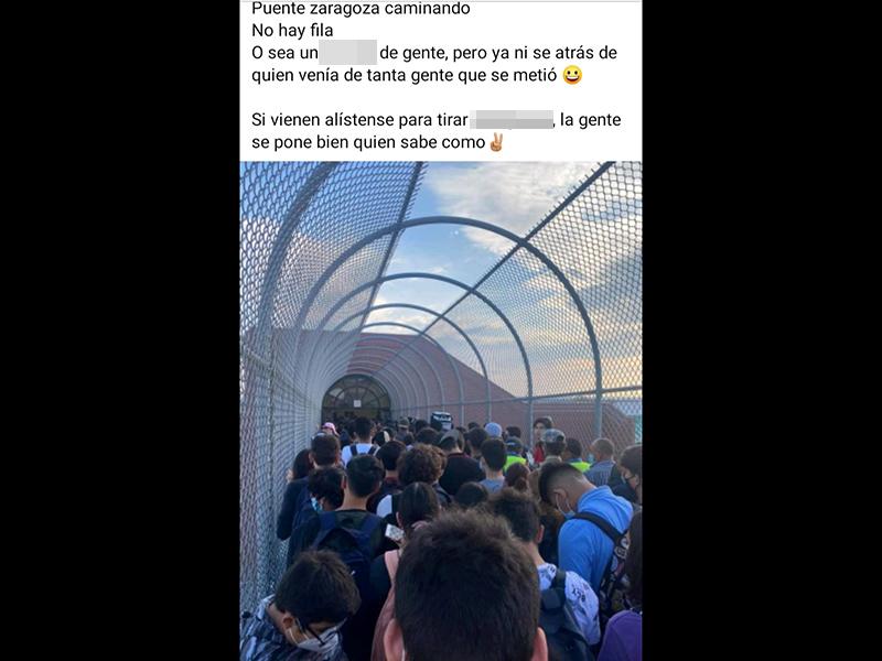 estudiantes en puentes internacionales