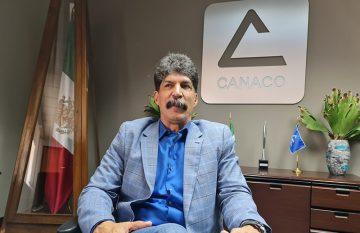 Rogelio Ramos, presidente de la Canaco