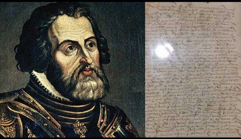 Devuelven carta de Cortés