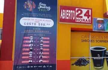 La Feria Juárez 2021 se llevará a cabo