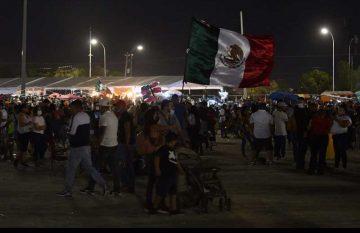 Miles de juarenses dieron el Grito de Independencia