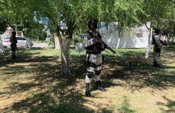 Guardia Nacional toma parques de Juárez