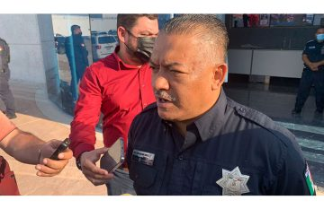secretario de Seguridad; violencia Pública Municipal César Omar Muñoz